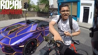 The Bike is easily recognisable, but is that KSI's Lamborghini?