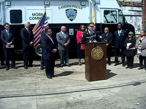 Press Conference Remarks by Camden Police Chief J. Scott Thomson