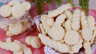 Biscoitinhos de Nata que Derretem na Boca – Rende Mais de 100 Biscoitinhos