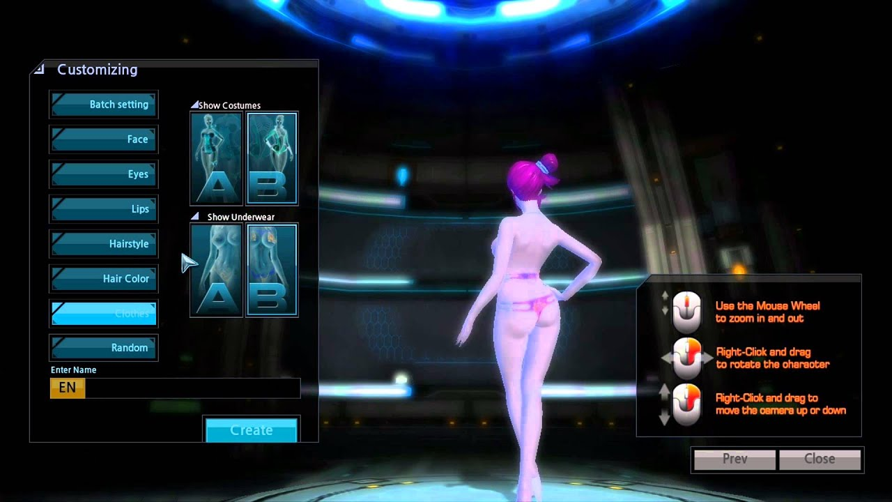 character creation porn games