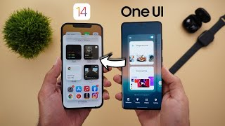 iOS 14 vs OneUI 3.1 – In-Depth Comparison (Compared using iPhone 12 Pro Max & S21 Ultra)