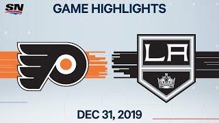 NHL Highlights   Flyers vs. Kings - Dec. 31, 2019