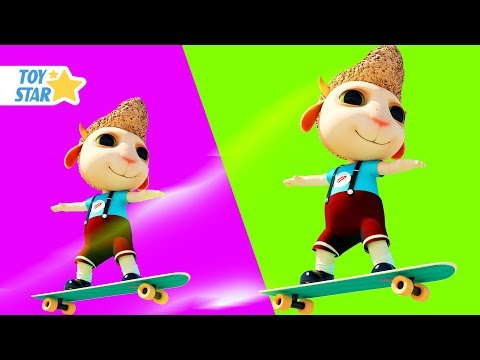 Dolly and Friends 3D | The Boo Boo Song For Kids #229