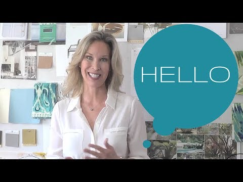 Celebrity Interior Designer Lori Dennis All About Our Firm - YouTube