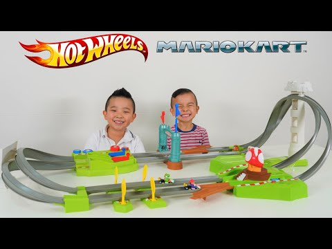 COOL Mario Kart Hot Wheels Circuit Track Set CKN Toys