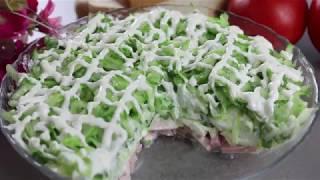 """Супер-простой салат """"Гриня"""" !"""
