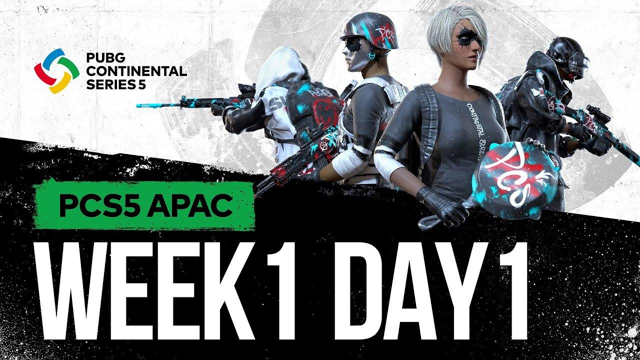 Download 🔴Live สด! 🏆 ศึก 𝐏𝐔𝐁𝐆 𝐂𝐨𝐧𝐭𝐢𝐧𝐞𝐧𝐭𝐚𝐥 𝐒𝐞𝐫𝐢𝐞𝐬 5 APAC l สัปดาห์ที่ 1 วันที่ 1