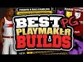 BEST PLAYMAKER POINT GUARD BUILDS in NBA 2K18! HOW TO CREATE MOST OVERPOWERED POINT GUARD IN 2K18!!