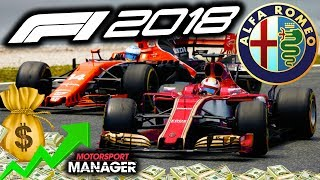 F1 2018 Alfa Romeo Manager Career: BEST RACE SO FAR! - Part 8