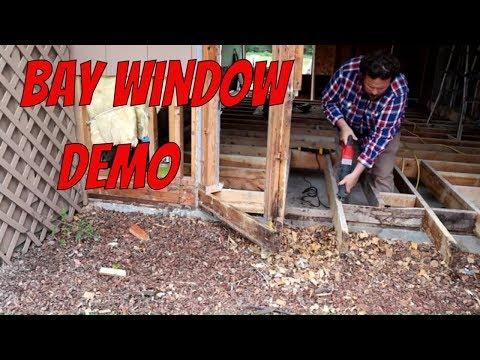 Remodel Bay Window Demo
