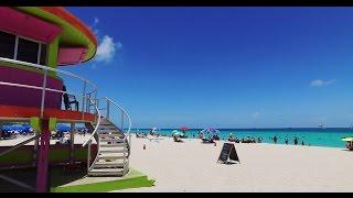 Day at the beach - South Beach, Miami Florida - 4K