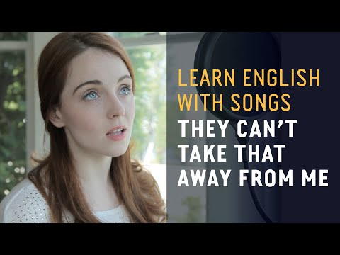 Learn English with Songs - They Can't Take That Away From Me - Lyric Lab