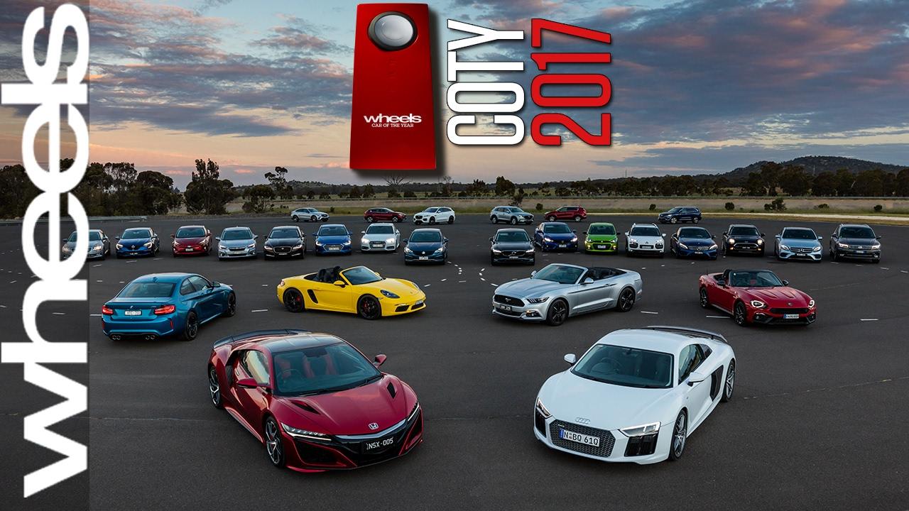 2017 car of the year australia