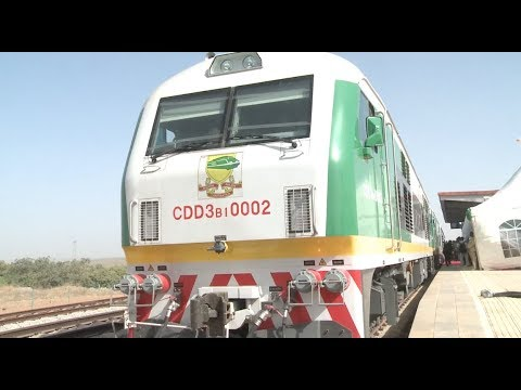 Nigeria Inaugurates Chinese-made Train for Kaduna-Abuja Railway