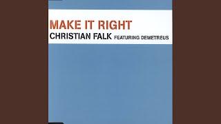 """Make It Right (True Faith 12"""" Mix)"""