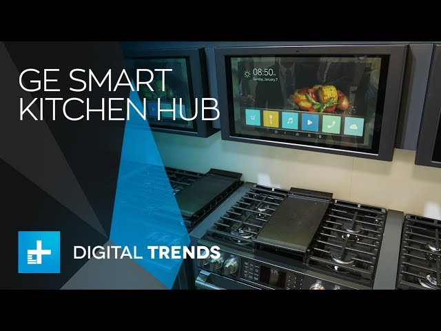 ge kitchen hub hands on at ces 2018