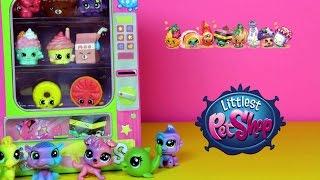 Błyszczące Littlest Pet Shop & Automat Shopkins - Unboxing