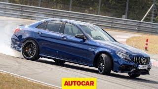 2019 Mercedes-AMG C63 S driven | 503bhp 4.0-litre V8 on track | Autocar