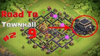 Clash Of Clans | Road To Townhall 9 #2 | Clash With Stunning