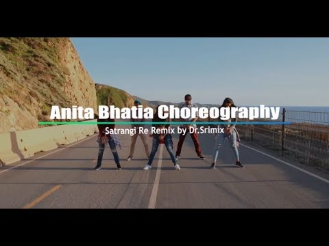 BollyHOOD | Satrangi Re Remix | Dr. Srimix | Anita Bhatia Choreography