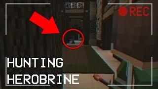 Hunting Herobrine (Full Minecraft Horror Film) Ft. ItsDylan