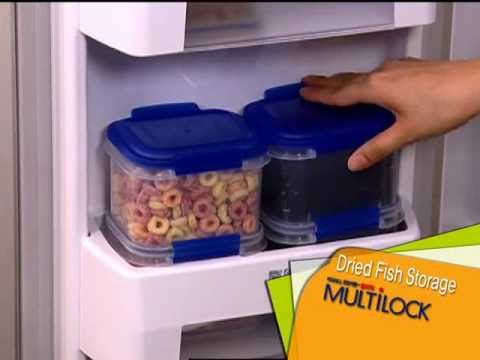 Lock&Lock's Airtight Food Containers MULTILOCK - The Perfect Eco-friendly Storage Solution