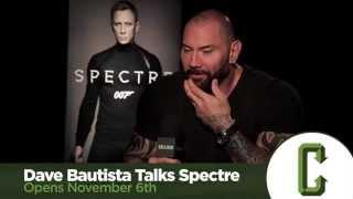 Dave Bautista Talks Spectre