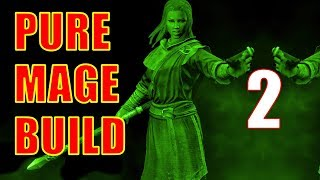 Skyrim Pure Mage Walkthrough NO WEAPONS NO ARMOR Part 2 - Anise's Cabin & Riverwood