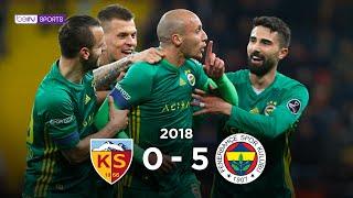 Kayserispor 0 - 5 Fenerbahçe #Özet