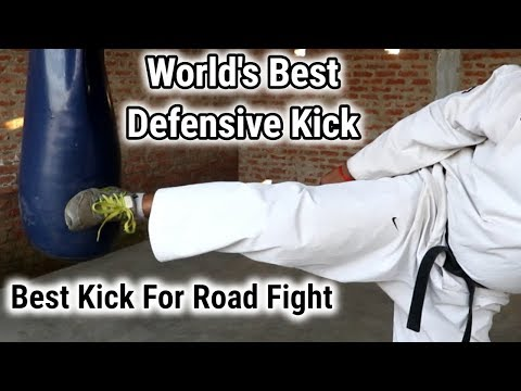 Best Training For Impact | How To Do Leg Strong | Best Kick For Road Fight