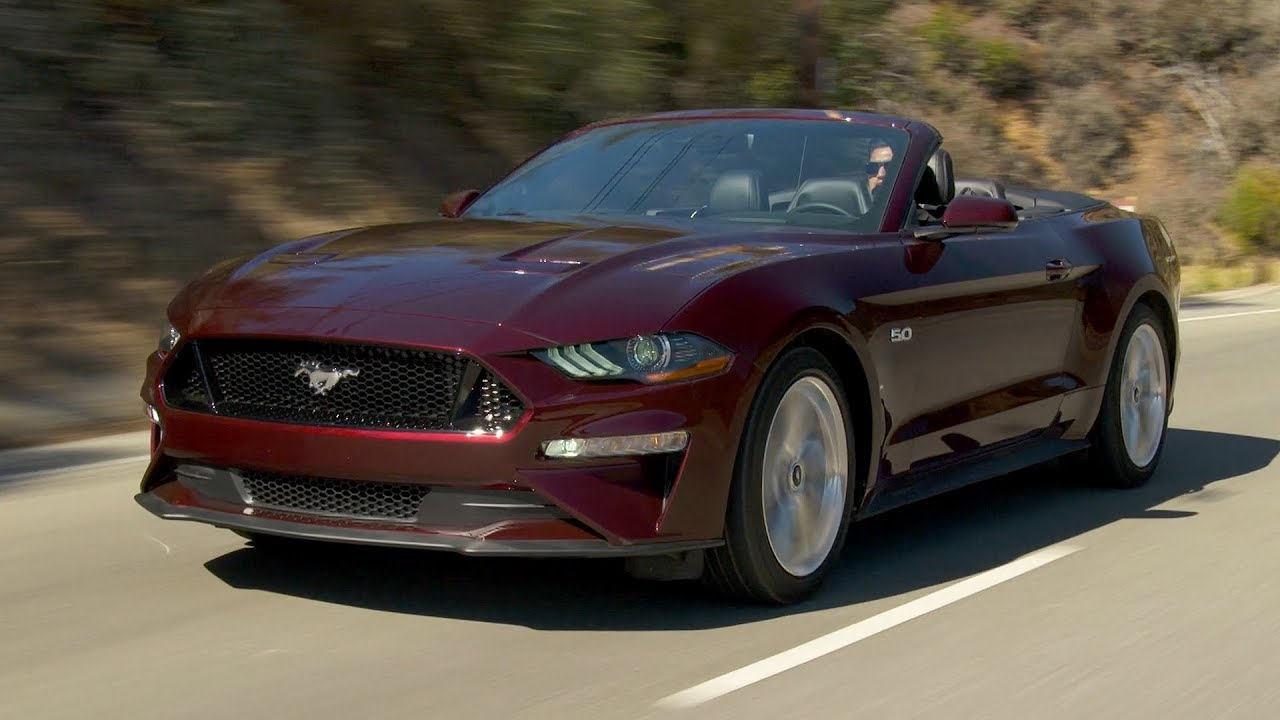 2018 ford mustang v8 convertible