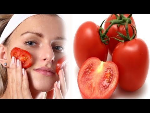 mascarilla de tomate con azucar para la cara