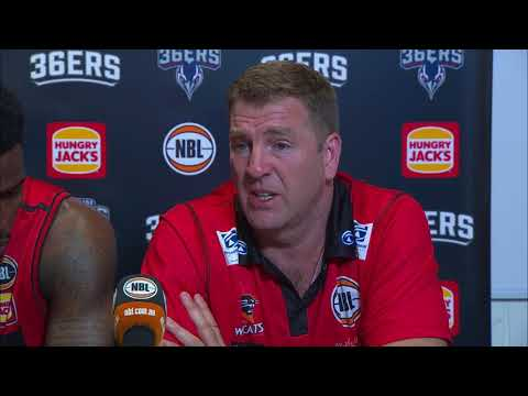 Post Game Press Conference - Perth Wildcats def. by Adelaide 36ers
