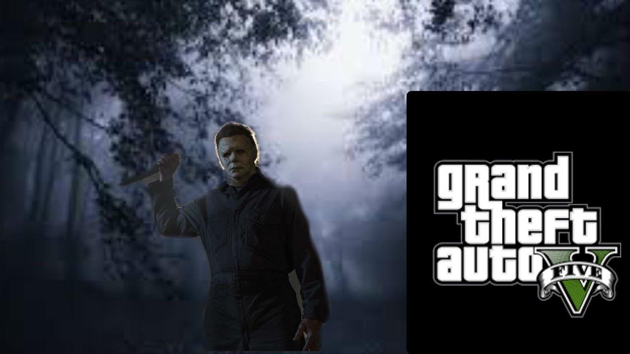 GTA 5 (HALLOWEEN) Michael Myers Movie 2018 *Halloween Special*