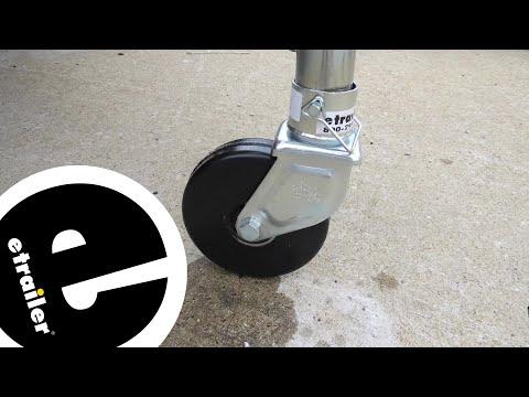 etrailer.com Removable Trailer Jack Caster Review - etrailer.com