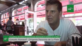 """""""Las políticas del Gobierno nacional están destrozando el comercio en La Plata"""""""