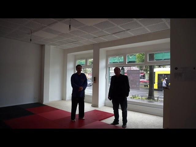 Rede zur Eröffnung des Shihonkin Dojo von Dominik Lübben und Heinz Köhnen