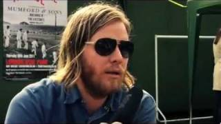 Arcade Fire backstage at Hyde Park, 2011 #2