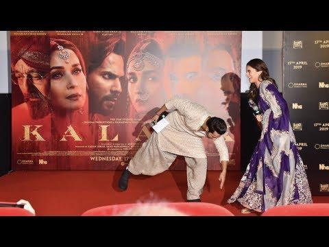 Alia Bhatt - Varun Dhawan's Cute Moments On Stage At Kalank Trailer Launch