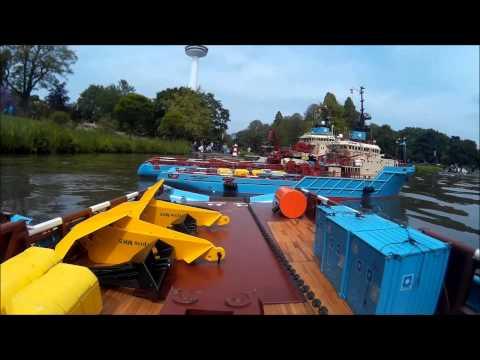 Anchor handling Maersk Master  Hamburg 2015, part 2