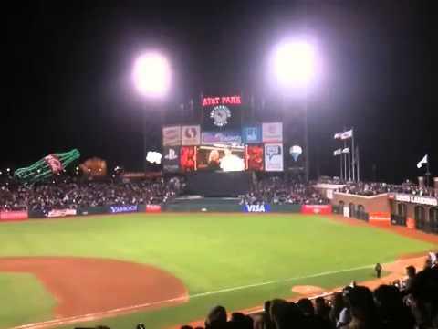 Matt Cain 9th inning perfect game