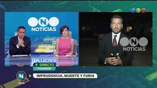 Imprudencia, muerte y furia- Telefe Noticias