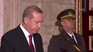 Cumhurbaşkanı Erdoğan'ın Anıtkabir'de