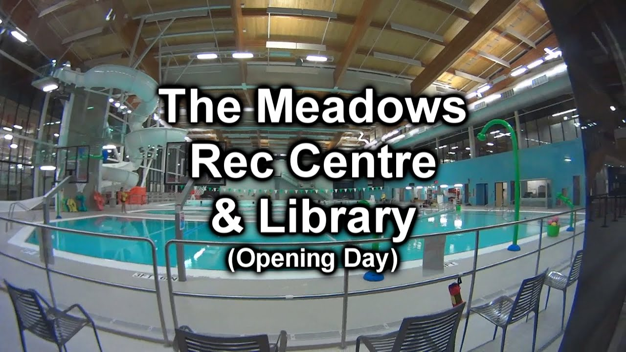 The Meadows Community Rec Centre Library Opening Day Youtube