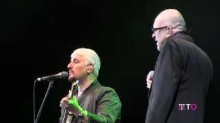 �������� ���� Pino Daniele e Mario Biondi duettano a Umbria Jazz 2013 cantando