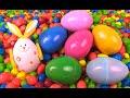Easter Bunny Egg Hunt - Paw Patrol Hello Kitty Sully Monsters University Grasshopper Disney CARS