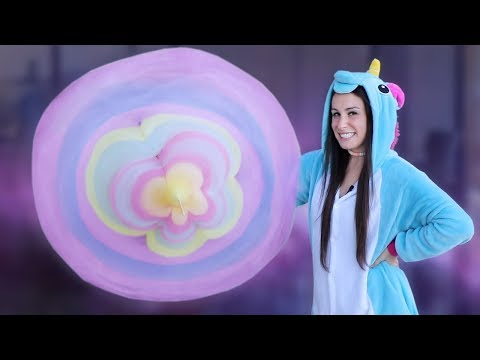 DIY GIANT COTTON CANDY FLOWER & MORE