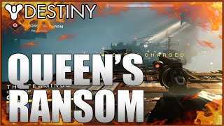 destiny queen s ransom mission 5 gameplay house of wolves dlc gameplay