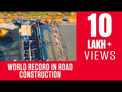 World Record in Road Construction