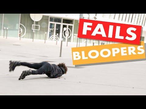 INLINE SKATING FAILS & BLOOPERS - Fancy Feet 2